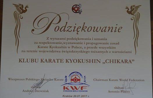44 Wschodnio-Europejski Letni Obóz Karate KWF – Kraków 2017