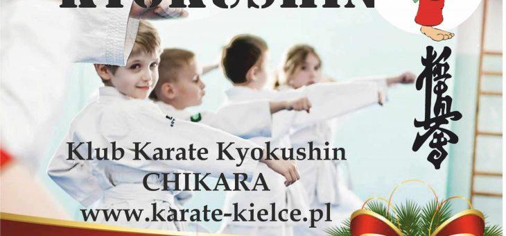 TURNIEJ MIKOŁAJKOWY Karate Kyokushin – WDK Kielce 02.12.2017 r.