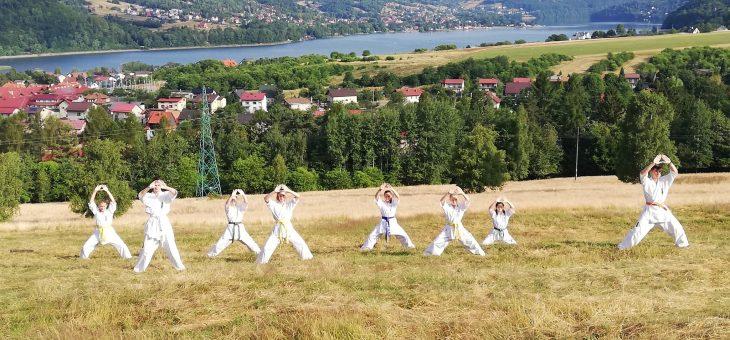 Letni Obóz Karate – Międzybrodzie Żywieckie 2019
