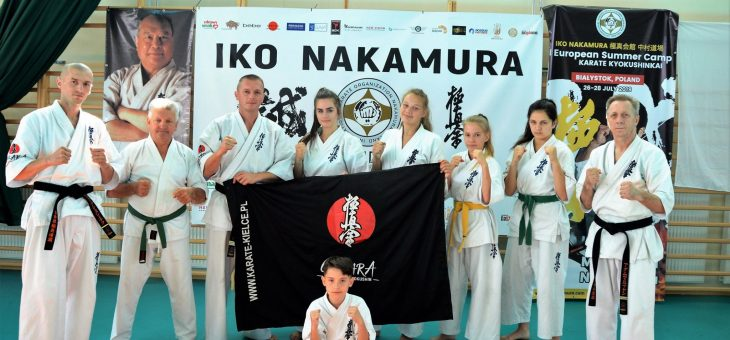 II EUROPEJSKI letni OBÓZ KARATE KYOKUSHIN IKO NAKAMURA – Białystok 26-28.07.2019
