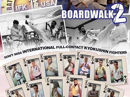 Battle on the BOARDWALK 2 – Atlantic City New Jersey USA – wygrana sensei Ernest Miszczyk na międzynarodowym turnieju !!!